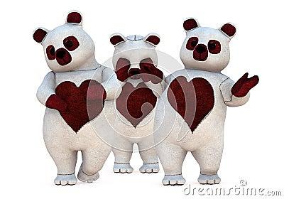 Grupo de ursos