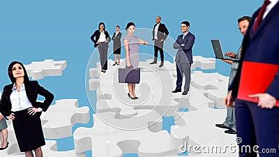 Gruppe Geschäftsleute Treffen