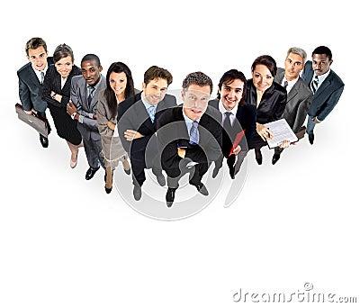 Gruppe Geschäftsleute