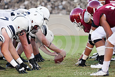 Gruppi di football americano Fotografia Stock Editoriale