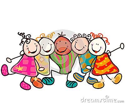 Gruppo dei bambini