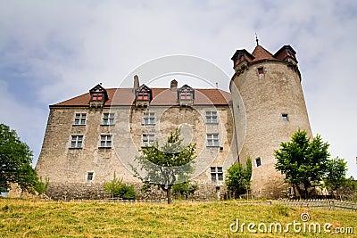 Gruyeres Castle, Fribourg Canton, Switzerland