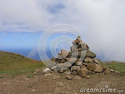 Góry terevaka wielkanoc wyspy