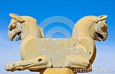 Gryf statua