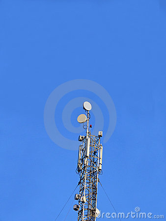Gsm antenna (antenne), mobile phone pylon, telecom