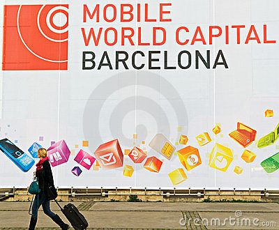 GSMA Mobile World Congress Editorial Photo