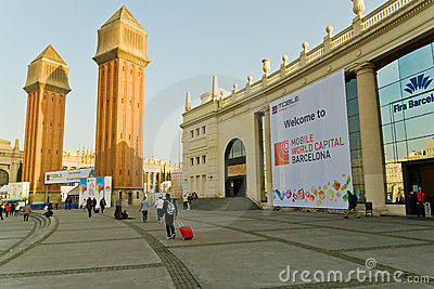 GSMA Mobile World Congress Editorial Photography