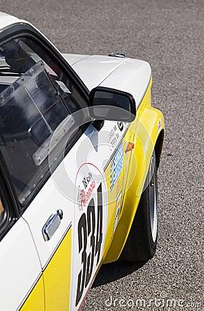 GTE de Opel Kadett Fotografía editorial