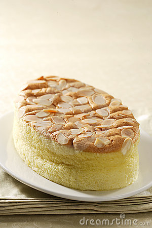 Gâteau de coton d amande