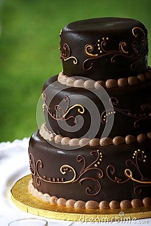 Recette de gateau de mariage au chocolat
