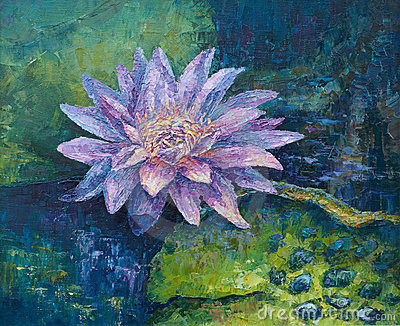 Água-lírio do Lilac