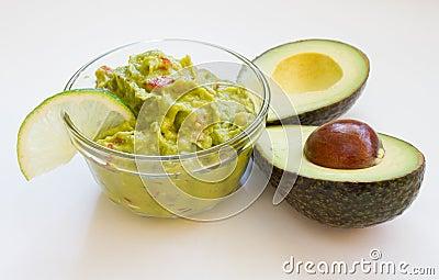 Guacamole closeup