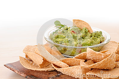 Guacamole snack