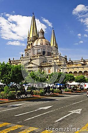 Free Guadalajara Cathedral In Jalisco, Mexico Royalty Free Stock Photo - 13197935