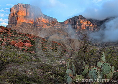 Guadalupe Mountains Sunrise