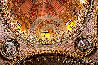 Guadalupita Church Dome