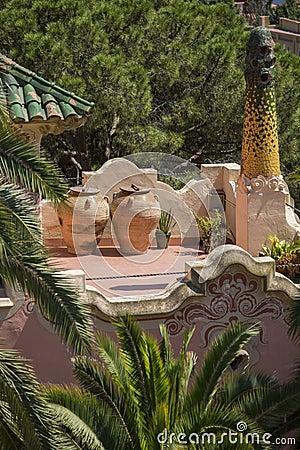 Guadi Style Chimney - Barcelona - Spain