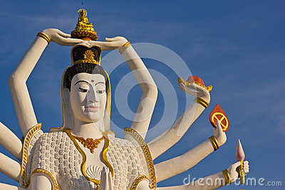 Guan Yim At Koh Samui Royalty Free Stock Photography - Image: 24989887
