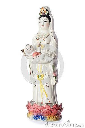The Guan Yin Buddha Statue