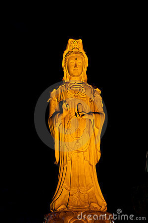 Guan Yin Image, Goddess of Mercy. Thailand