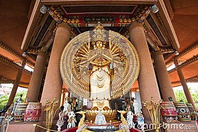 Guan Yin with ten thousand hands