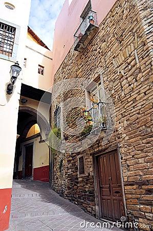 Guanajuato alley