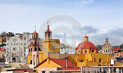 Guanajuato downtown