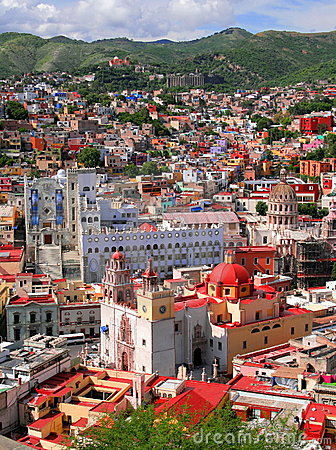 Free Guanajuato Downtown Stock Image - 6147471