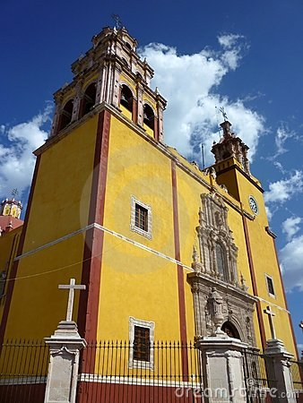 Guanajuato Mexico Catholic Church