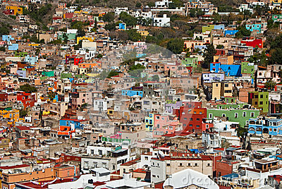 Guanajuato a town of many colors Editorial Stock Image
