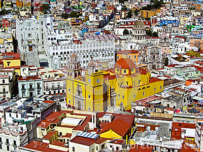 Guanajuato A World Heritage Site Editorial Image