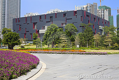 Guangdong Museum Editorial Stock Photo