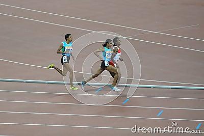 Guangzhou Asian Games- Women s 10,000m race Editorial Stock Image