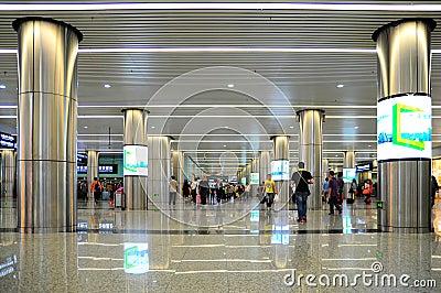 Guangzhou east metro station, china Editorial Image