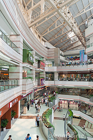 Guangzhou, Grandview Mall Editorial Photography