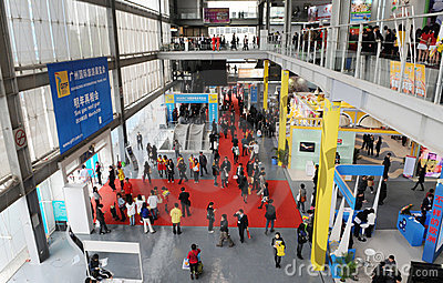 Guangzhou Internation Fair Editorial Photography