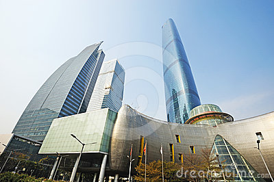 The Guangzhou International Finance Center (GZIFC) Editorial Image