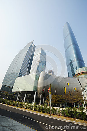 The Guangzhou International Finance Center (GZIFC) Editorial Stock Image