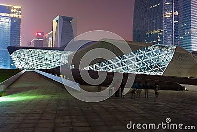 Guangzhou Opera House Editorial Image