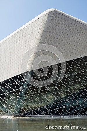Guangzhou Opera House china Editorial Image
