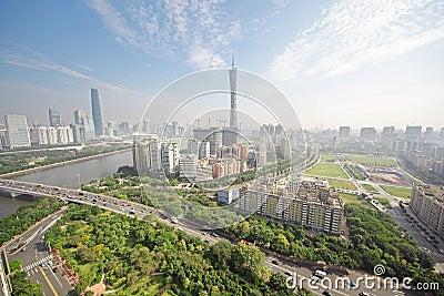 Guangzhou Pearl river, Canton TV Tower