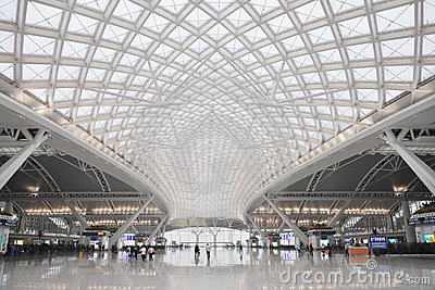 Guangzhou railway station Editorial Image