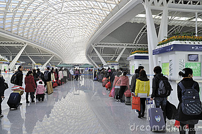 Guangzhou South Railway Station Editorial Stock Image