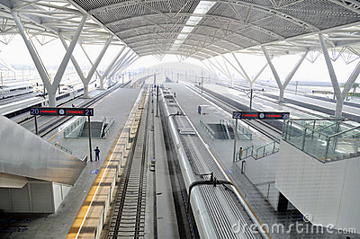 Guangzhou South Railway Station Editorial Image