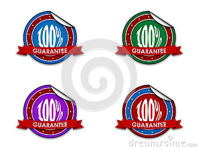 Guarantee sale badge