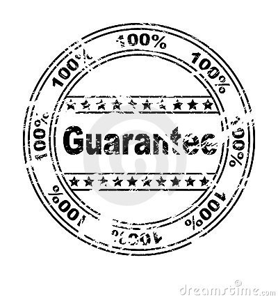 GUARANTEE stamp (vector)