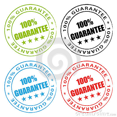 100  guarantee stamps