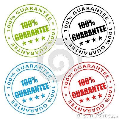 100  guarantee stamps