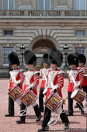 Guard change in Buckingham Palace Editorial Photo