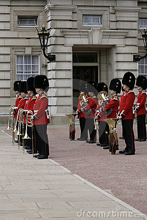 Guard Changing. London Editorial Image